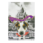 Cahier Chien That's Paris Dude - Papeterie originale