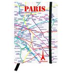 Carnet Plan de métro Paris Eclair - Papeterie originale