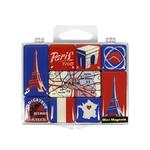 Aimant frigo Paris 1968 - Boite de 9 magnets