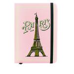 Carnet Paris Tour Eiffel Rose - Papeterie originale