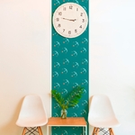 Lé de papier peint - 7032 - Seabirds vert