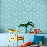 Rouleau de papier peint - 9024 - Looping bleu