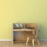 Rouleau de papier peint - 9025 - Looping jaune
