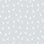 Rouleau de papier peint - 9031 - Cocottes gris