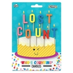 Bougies d'anniversaire LOST COUNT