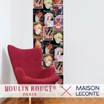 Lé de papier peint - 7024 - En scène - Collection Moulin Rouge