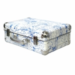 Valise design catch a waves bleu - Maison Leconte