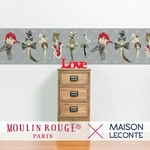 Frise de papier peint - 7025 - Couture et Fantaisies - Collection Moulin Rouge