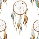 Lé de papier peint -  PDN1511002R - Collection amérindienne - Asha