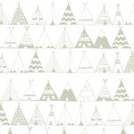 Lé de papier peint - PDN1512001 - Collection amérindienne - Wapi