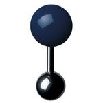 Boutons de manchette - Cufflinks BM 12 – Bleu
