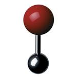 Boutons de manchette - Cufflinks BM 12 – Rouge