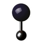 Boutons de manchette - Cufflinks BM 15 – Violet