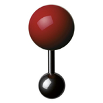 Boutons de manchette - Cufflinks BM 15 – Rouge