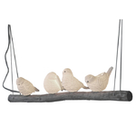 Suspension oiseaux sur une branche