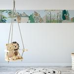 Lé de papier peint - Le chameau vrai ou faux