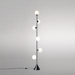 Lampadaire Vertical Globe - Noir