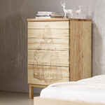 Commode en bois - SOLID