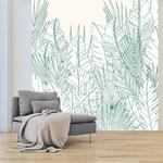 Papier peint adhésif panoramique - PPP1195 - Feuillage Vert