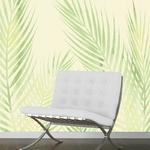 Papier peint adhésif panoramique - PPP1196 - Feuilles de palmier