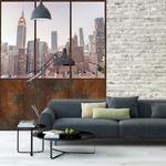Papier peint adhésif panoramiquqe - PPP1199 - Verrière New York City