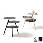 Table basse d'appoint Trio - Noir