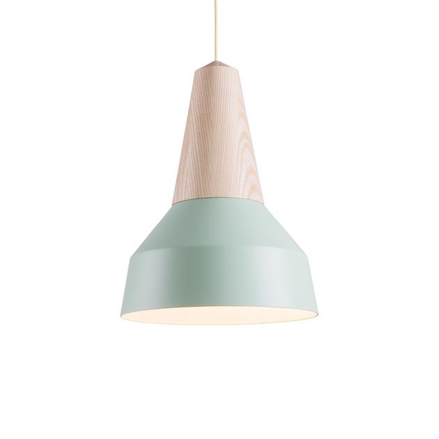 lampe suspension eikon m tal vert menthe luminaire suspensions et plafonniers design from. Black Bedroom Furniture Sets. Home Design Ideas