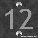 Numéro de maison 10 x 10 cm