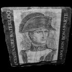 Napoléon 02 sur ardoise 10 x 10 cm
