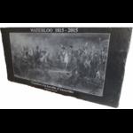 """""""Napoléon à la bataille d'Austerlitz"""" sur ardoise 60 x 30 cm"""
