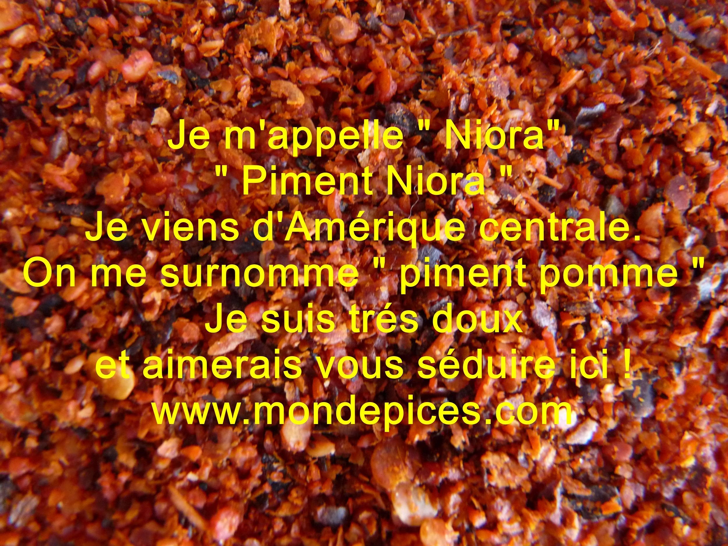 PIMENT NIORA 40 g