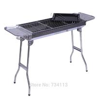Barbecue grill brochette portable