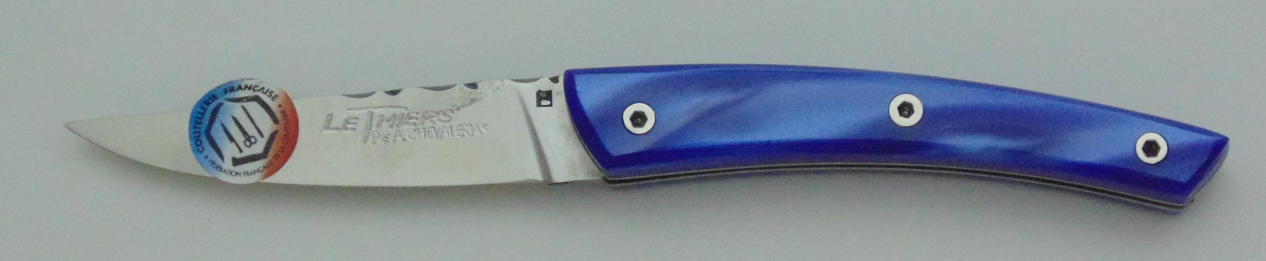 thiers visse 1p 9cm bleu