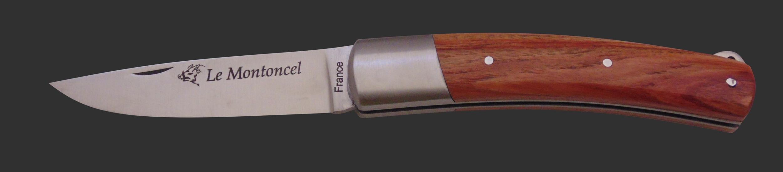 Couteau le Montoncel bois de rose