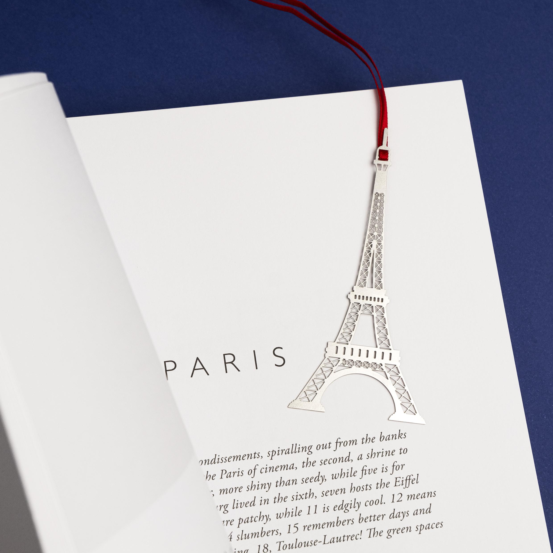 marque-page en métal - Tour Eiffel