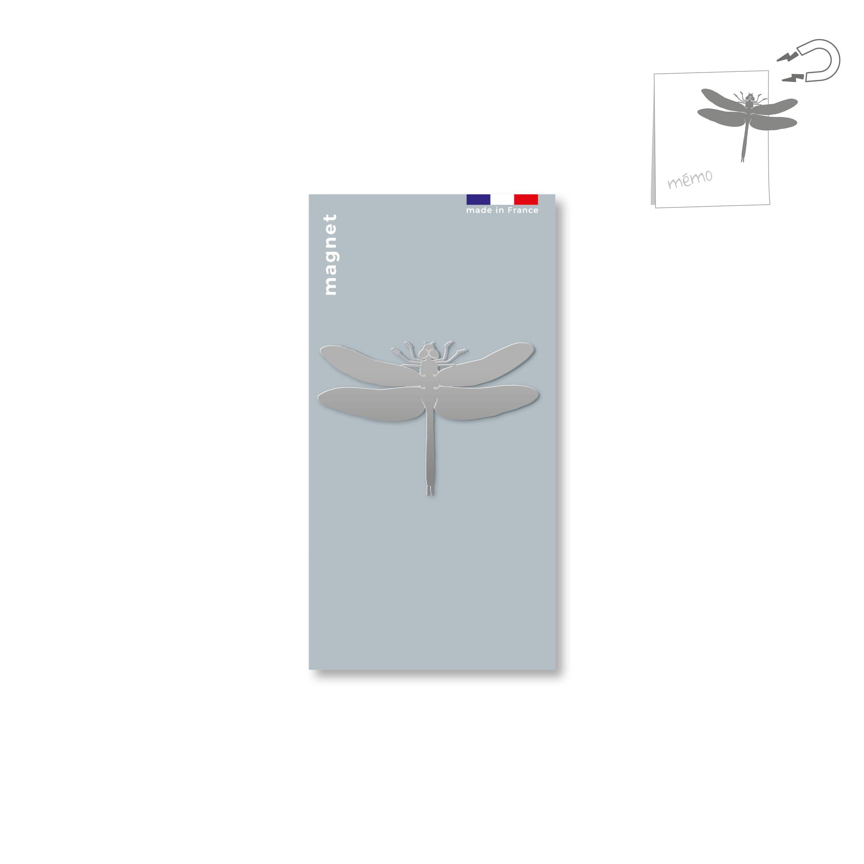 magnet en métal - libellule