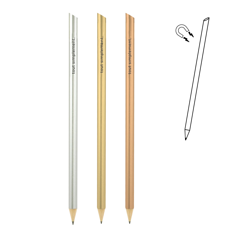 crayon magnétique - métallisé