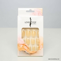 KIT FAUX ONGLES FRENCH BEIGES