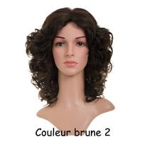 PERRUQUE BOUCLEE BRUNE 2