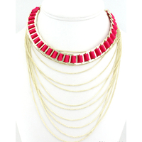 COLLIER MULTIPLE CHAINES