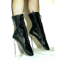 BOTTINES BALLET TALON METAL EN 41