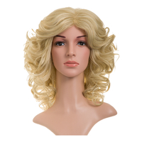PERRUQUE BOUCLEE BLONDE 24
