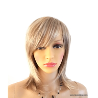 PERRUQUE BLONDE COUPE RASOIR
