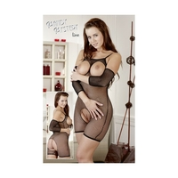 BODYSTOCKING COURT OUVERT S A XL