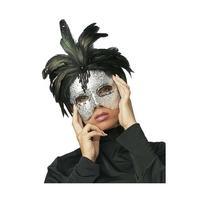 Masque vénitien sexy avec plumes