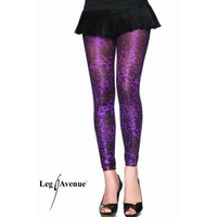 LEGGINGS LEOPARD VIOLET TRAVESTI TU