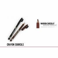 CRAYON SOURCILS COULEUR MARRON CHOCOLAT