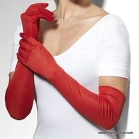 GANTS LONGS ROUGES OPERA
