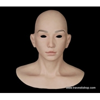 MASQUE FEMINISATION SILICONE RUBBER DOLLS SEXY ET REALISTE SF-N16