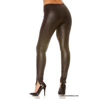 LEGGINGS SEXY NOIR S AU 2XL